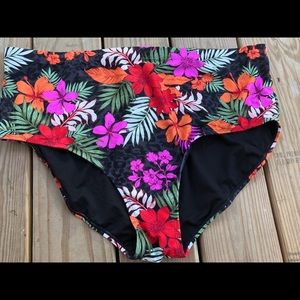 Swimsuitforall floral Bottom plus Size